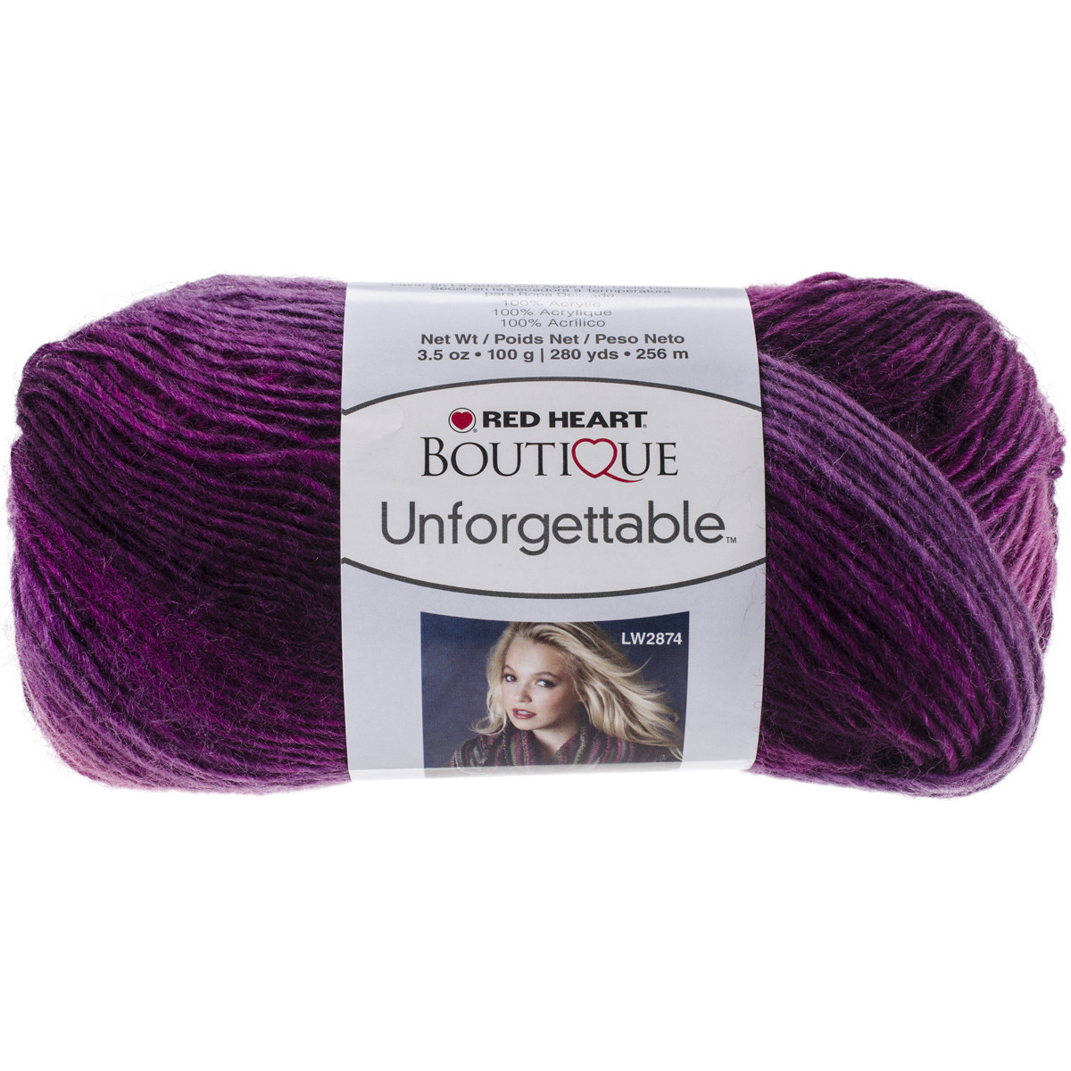 Red Heart Boutique Unfor table Yarn Petunia