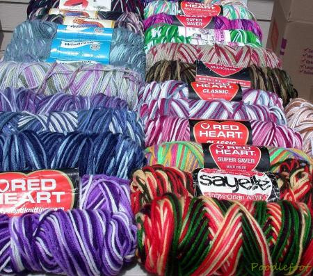 Red Heart Variegated Yarn Inspirational Yarn Lot Red Heart Brunswick Acrylics All Ombres Of Luxury 41 Ideas Red Heart Variegated Yarn