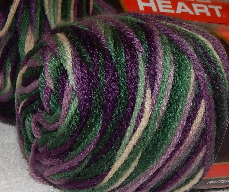 Red Heart Variegated Yarn Lovely 3 Skeins Red Heart Yarn Sage Mary 0997 Variegated Of Luxury 41 Ideas Red Heart Variegated Yarn