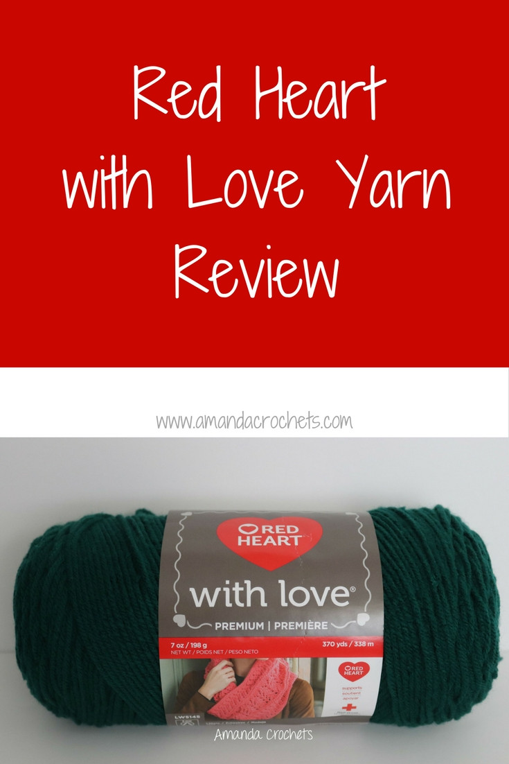 Red Heart with Love Best Of Red Heart with Love Yarn Review Amanda Crochets Of Red Heart with Love Fresh Love Heart Impremedia