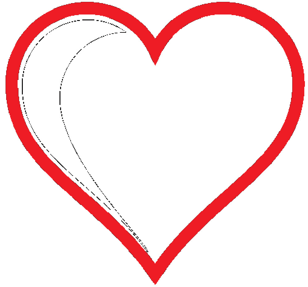 Red Heart with Love Elegant Clipartist Clip Art Heart Icon Red Hollow Marriage Of Red Heart with Love Fresh Love Heart Impremedia
