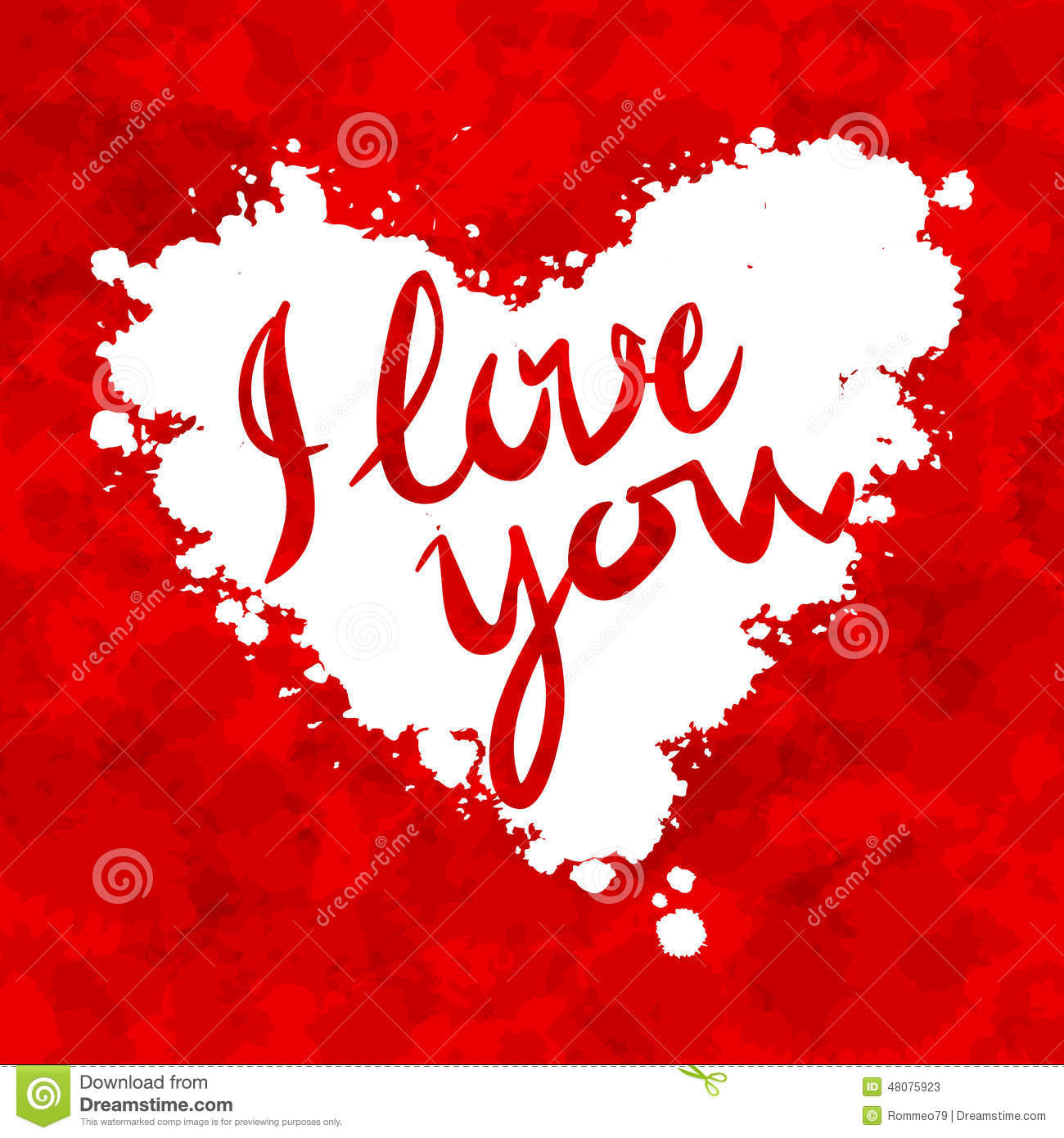 Red Heart with Love Unique I Love You Heart Red Background Painted with Stock Vector Of Awesome 41 Ideas Red Heart with Love