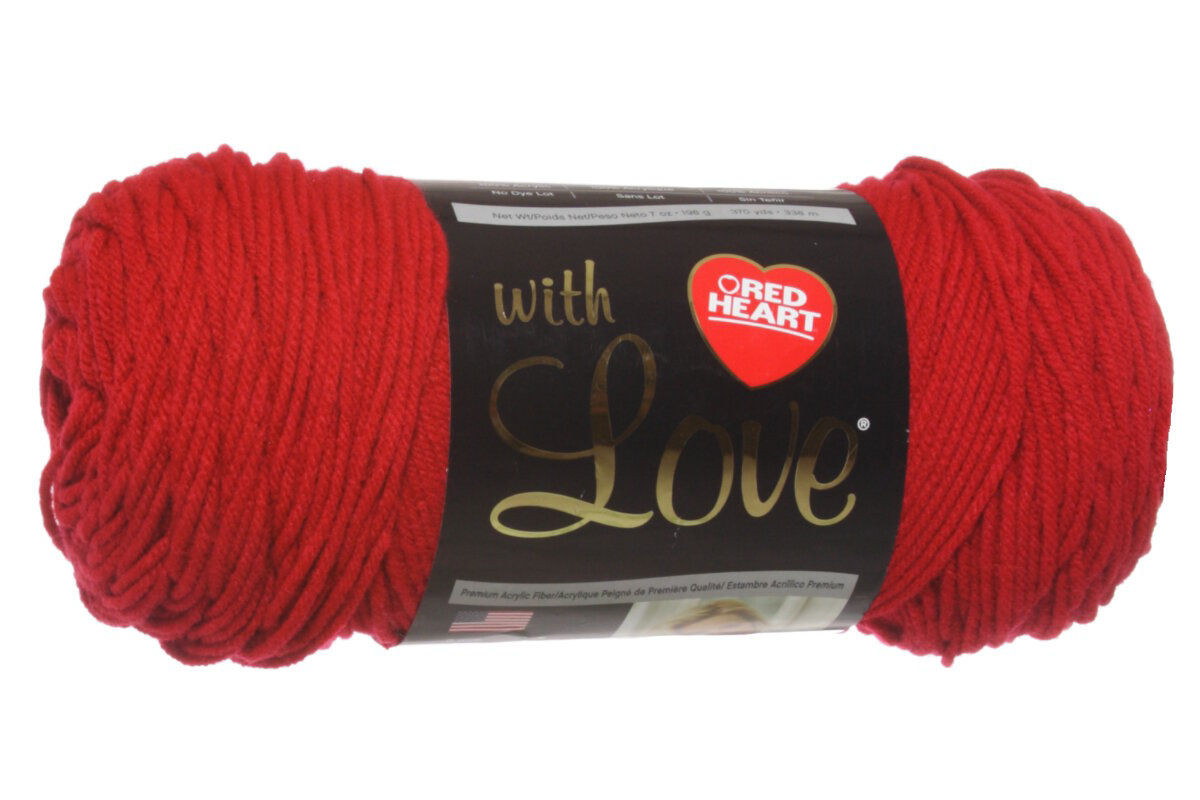 Red Heart With Love Yarn 1909 Holly Berry Video Reviews