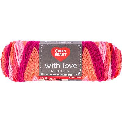 Red Heart with Love Yarn Elegant Red Heart with Love Yarn Passion Stripe Walmart Of Top 50 Pictures Red Heart with Love Yarn
