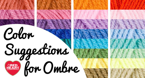 Color Suggestions for Ombre