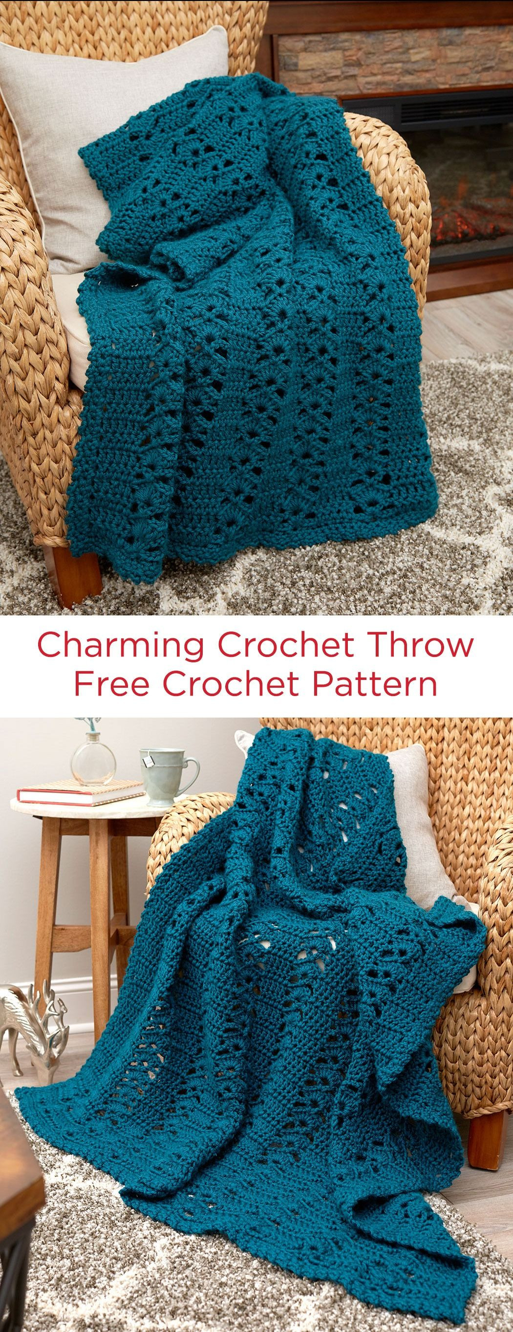 Red Heart Yarn Patterns Elegant Charming Crochet Throw Free Crochet Pattern In Red Heart Of Luxury 48 Images Red Heart Yarn Patterns