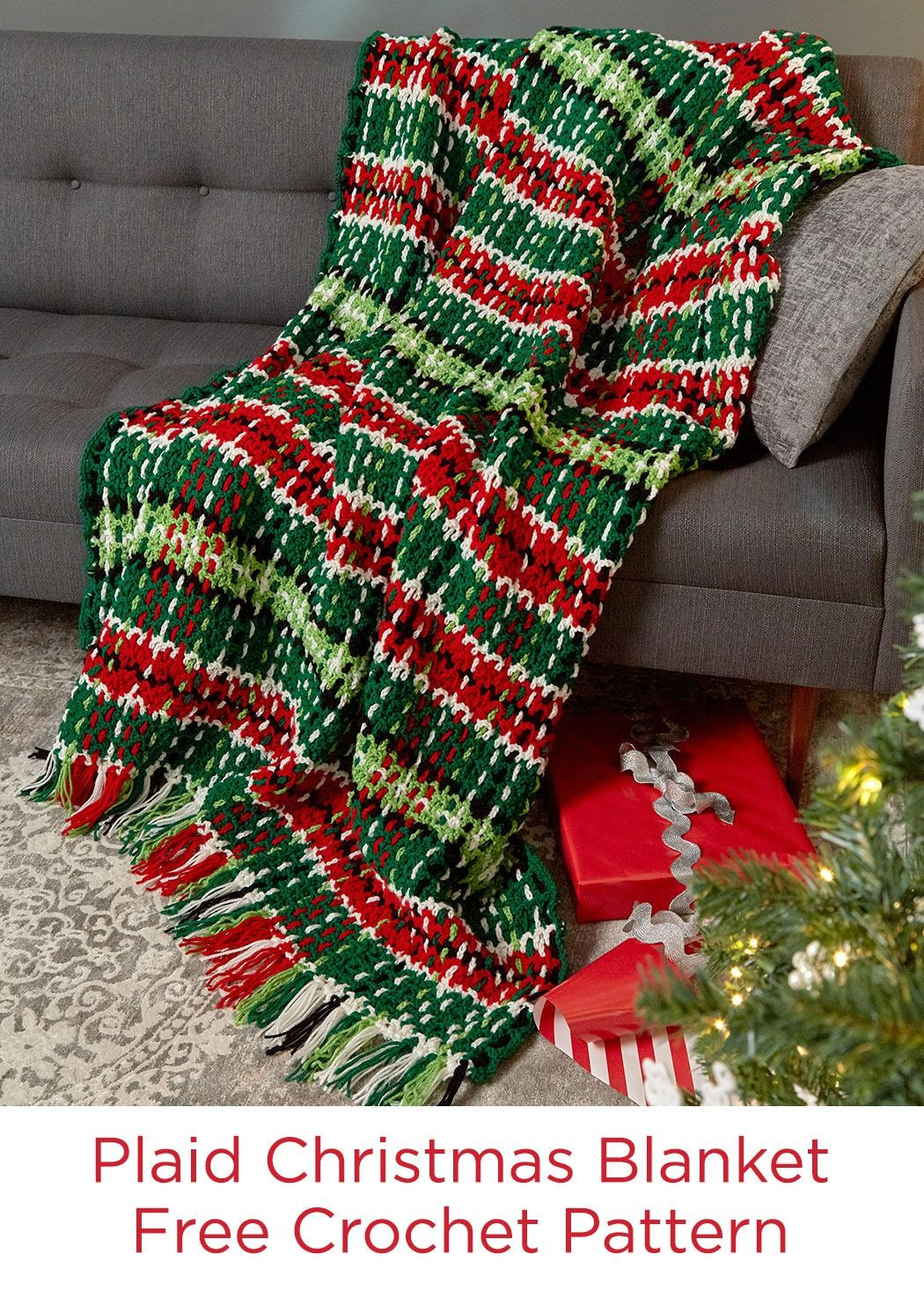 Red Heart Yarn Patterns Unique Plaid Christmas Blanket Free Crochet Pattern In Red Heart Of Luxury 48 Images Red Heart Yarn Patterns