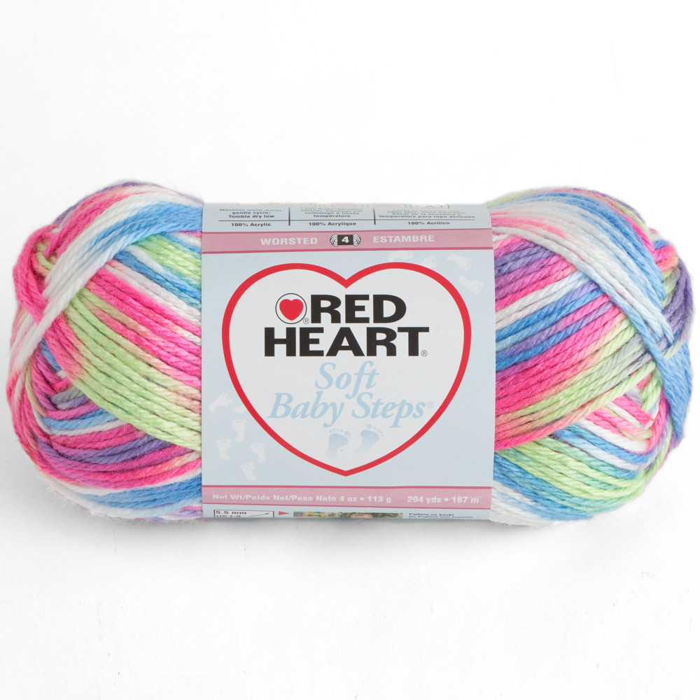 Red Heart Yarn Sale Beautiful Red Heart soft Baby Steps Prints Of Awesome 47 Models Red Heart Yarn Sale