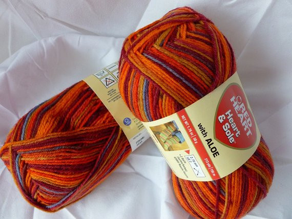 Red Heart Yarn Sale Beautiful Yarn Sale Tequila Sunrise Heart & sole with Aloe by Red Of Awesome 47 Models Red Heart Yarn Sale