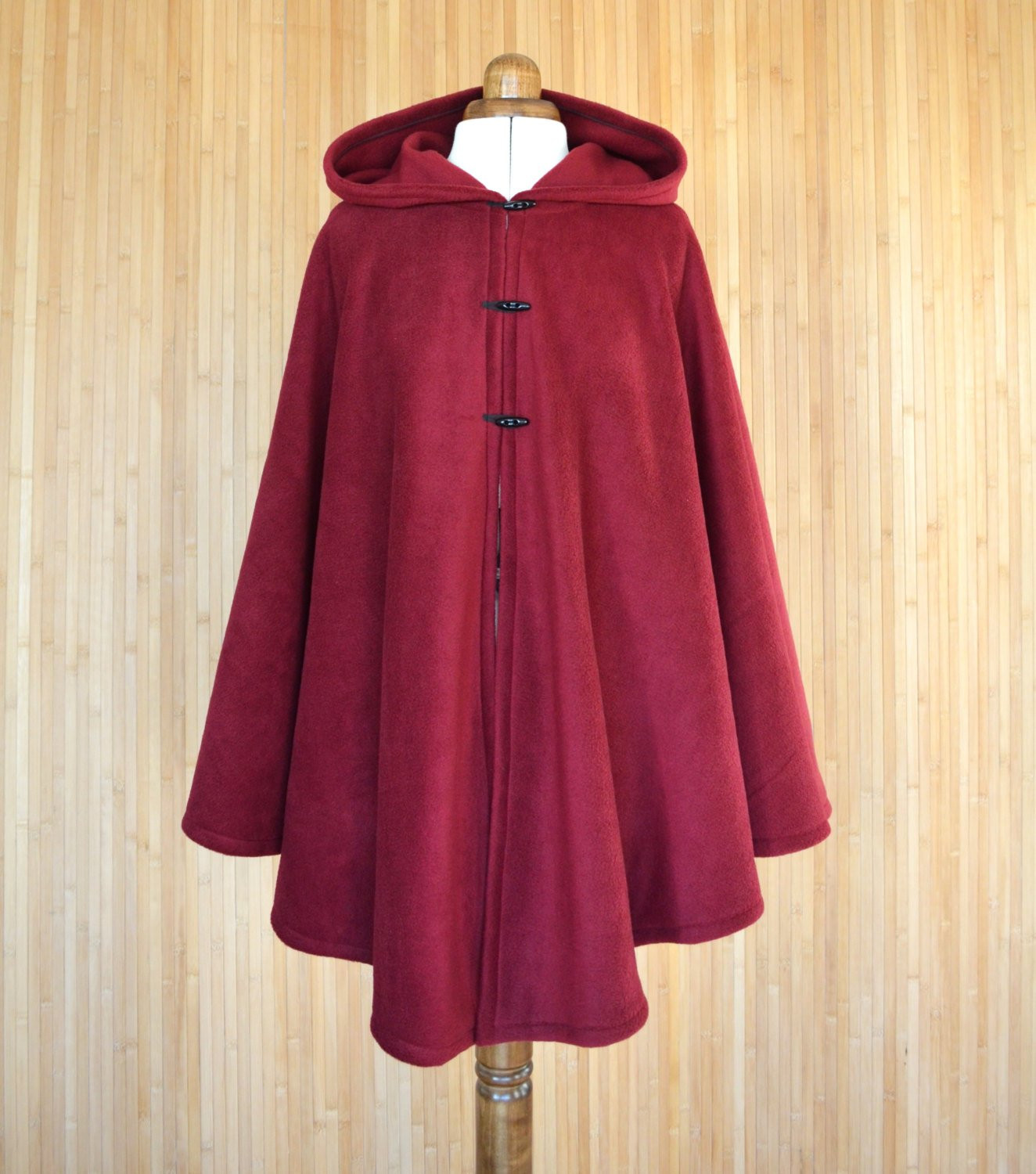Red Hooded Cape Beautiful Burgundy Hooded Cloak Dark Red Hooded Cape Plus Size Cape Of Perfect 49 Photos Red Hooded Cape
