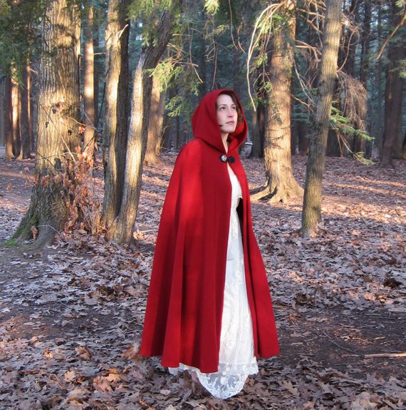 Red Hooded Cape Best Of Red Cloak Half Circle Cloak Wool Cloak Red Riding Hood Of Perfect 49 Photos Red Hooded Cape