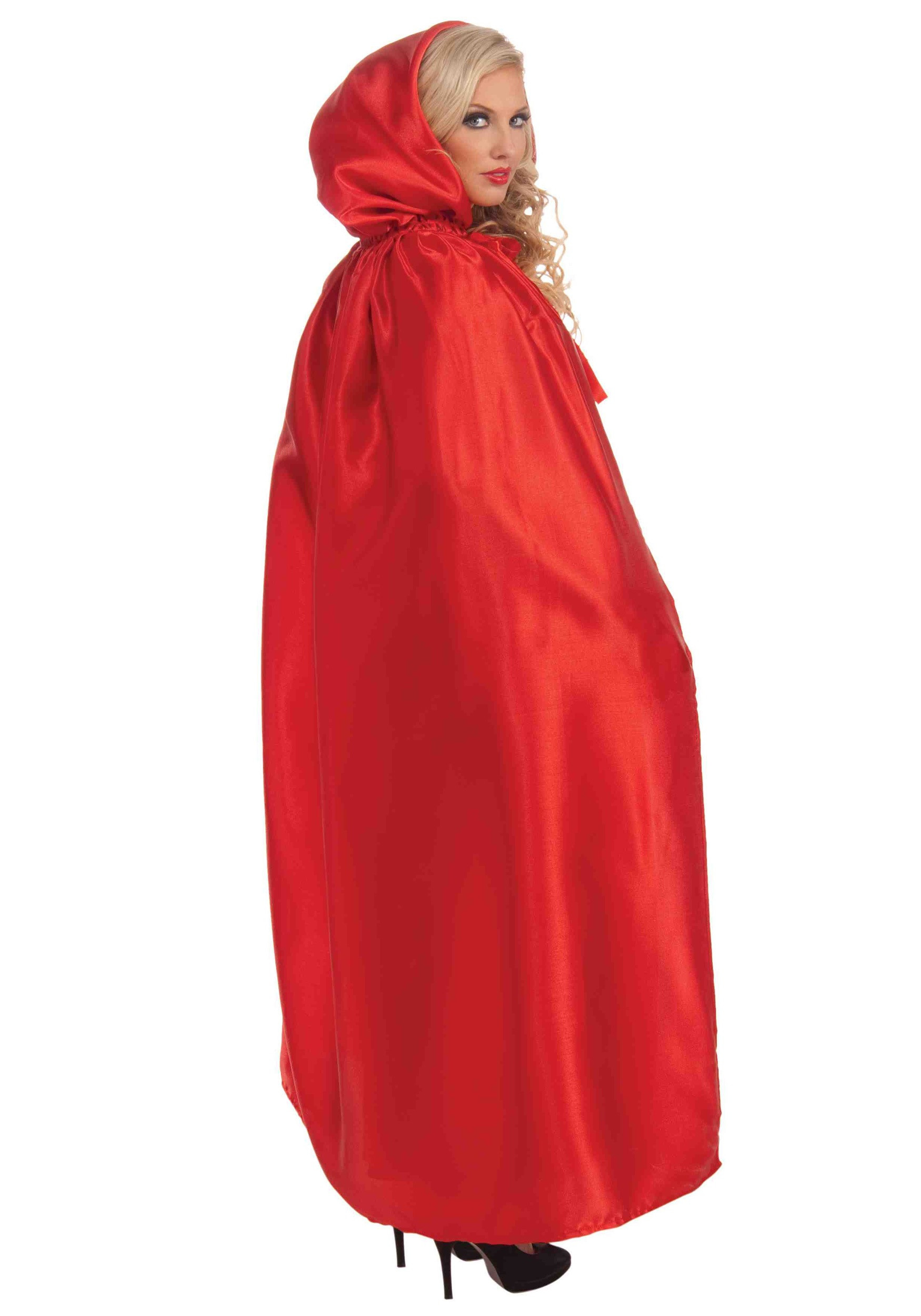 Red Hooded Cape Best Of Red Satin Cape Of Perfect 49 Photos Red Hooded Cape