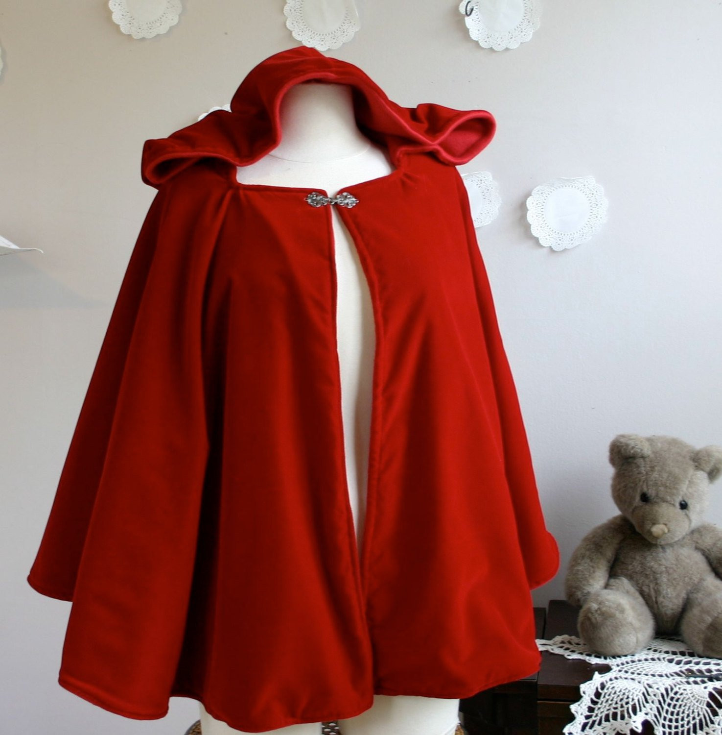 Red Hooded Cape Fresh Red Riding Hood Cape Womens Red Hooded Cape Adult Little Red Of Perfect 49 Photos Red Hooded Cape