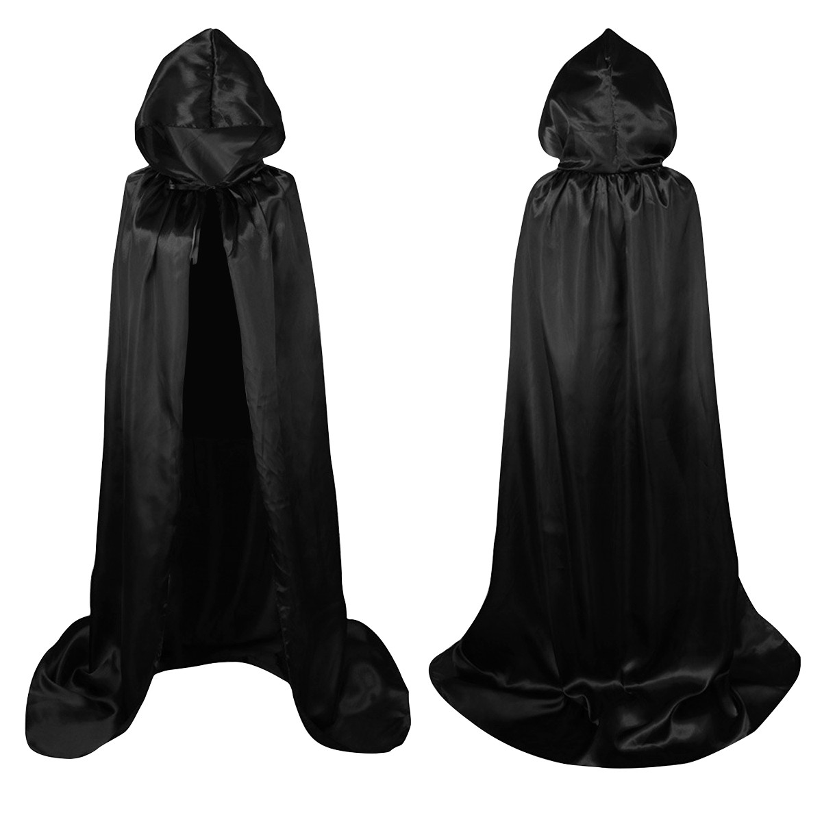 Red Hooded Cape Fresh Women Men Long Hooded Cloak Robe Halloween Wicca Cosplay Of Perfect 49 Photos Red Hooded Cape