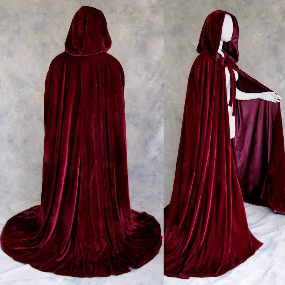 Red Hooded Cape Luxury Lined Burgundy Velvet Cloak Cape Wedding Wicca Me Val Of Perfect 49 Photos Red Hooded Cape