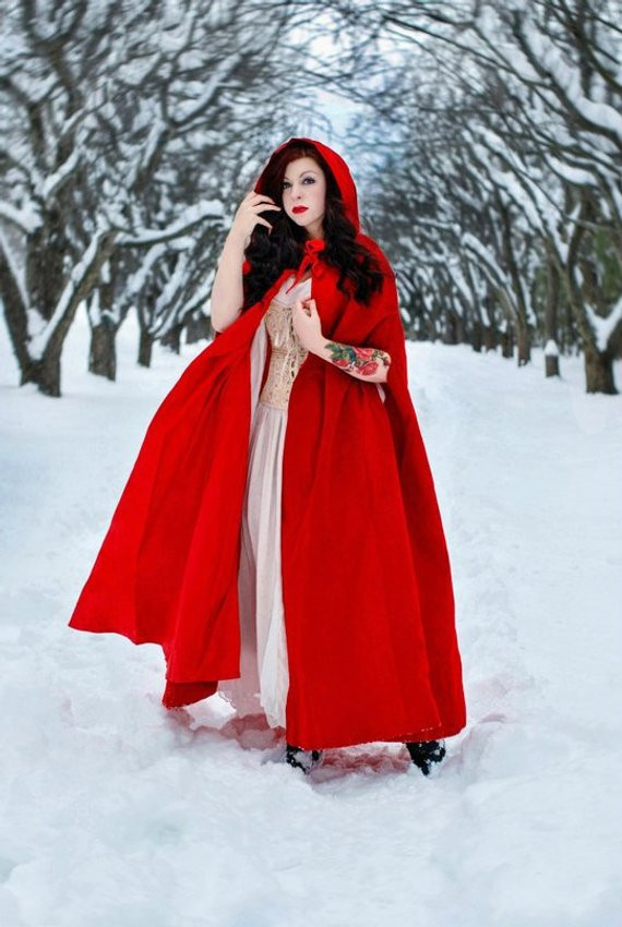 Red Hooded Cape New Hooded Cloak Cloak with Hood Red Cloak Velvet Cloak Red Of Perfect 49 Photos Red Hooded Cape