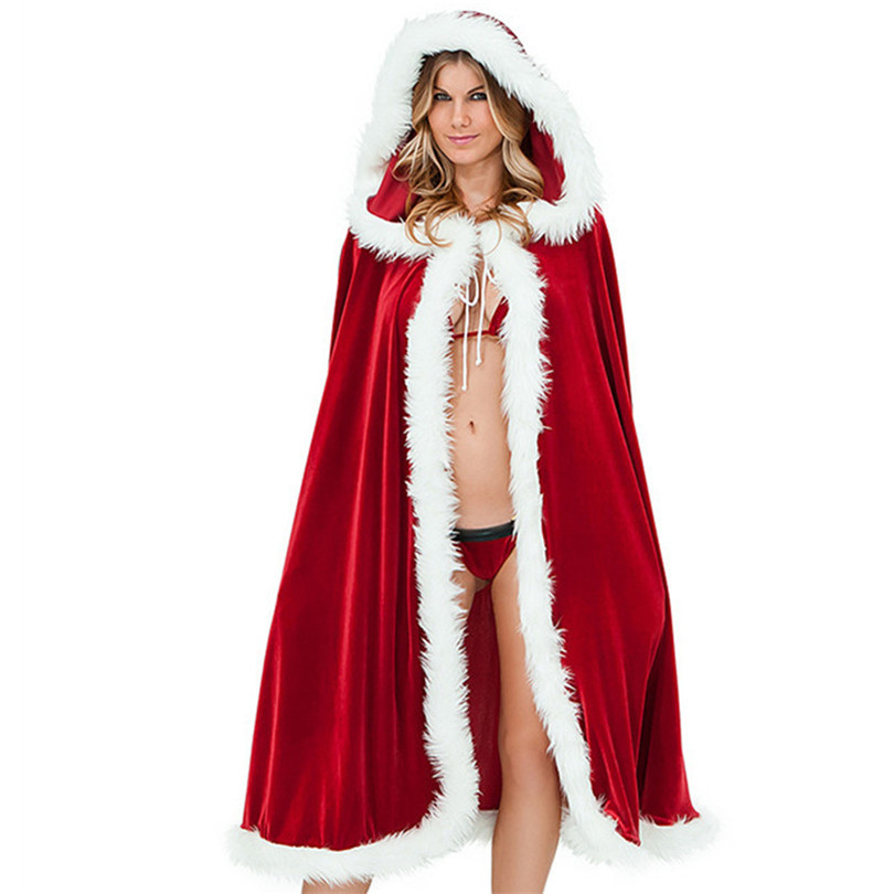 Red Hooded Cape Unique Red Velvet Women Christmas Hooded Cape Cloak 2016 Little Of Perfect 49 Photos Red Hooded Cape