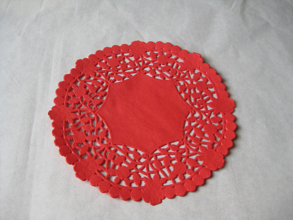 Red Paper Doilies Awesome 6 034 Inch Round Red Paper Lace Doilies Craft Canada Lacy Of Great 49 Images Red Paper Doilies