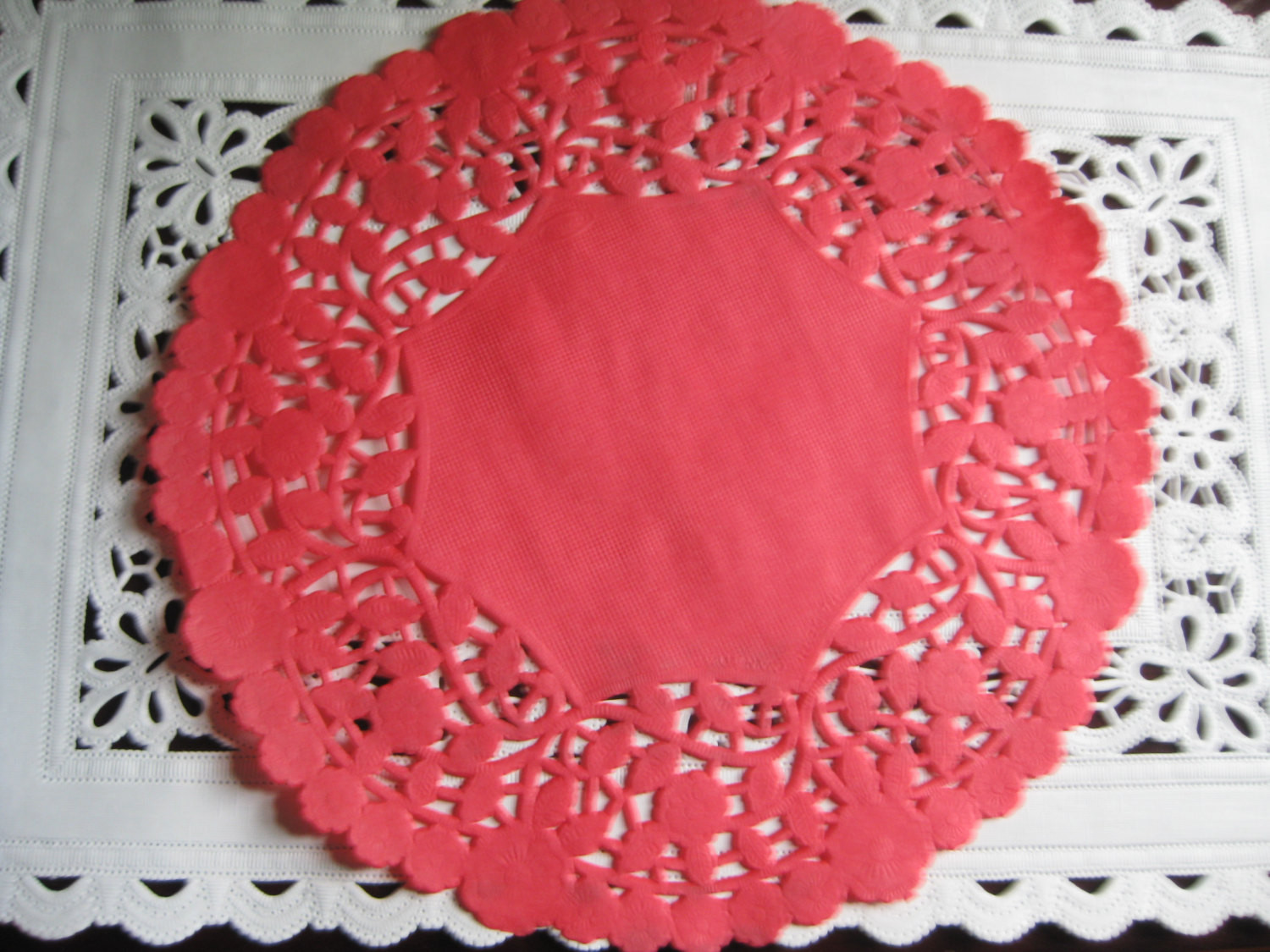 Red Paper Doilies Awesome 8 Inch Round Red Paper Lace Doilies Craft Cards Of Great 49 Images Red Paper Doilies