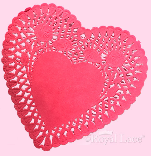 """Red Paper Doilies Awesome Red Heart Paper Doilies 6"""" Case Of Great 49 Images Red Paper Doilies"""