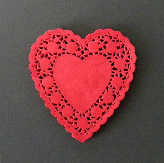 Red Paper Doilies Beautiful Unavailable Listing On Etsy Of Great 49 Images Red Paper Doilies