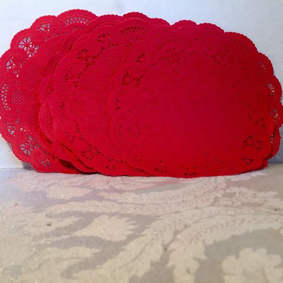 Red Paper Doilies Beautiful Vintage Red Paper Doilies Of Great 49 Images Red Paper Doilies