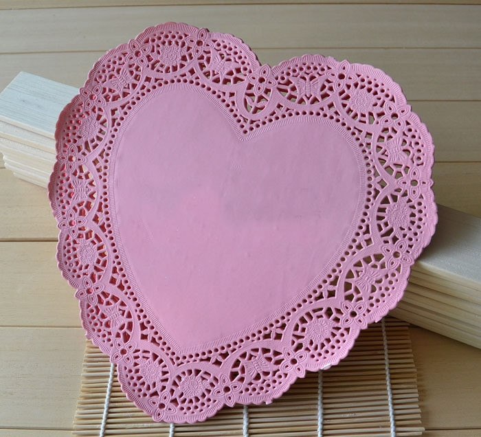 wholesale red paper doilies