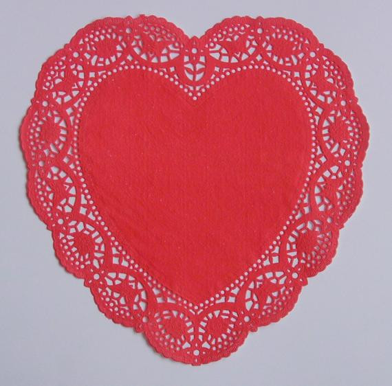 Red Paper Doilies Best Of Red Heart Shaped Paper Doilies 10 Inch Size Set Of 8 Of Great 49 Images Red Paper Doilies