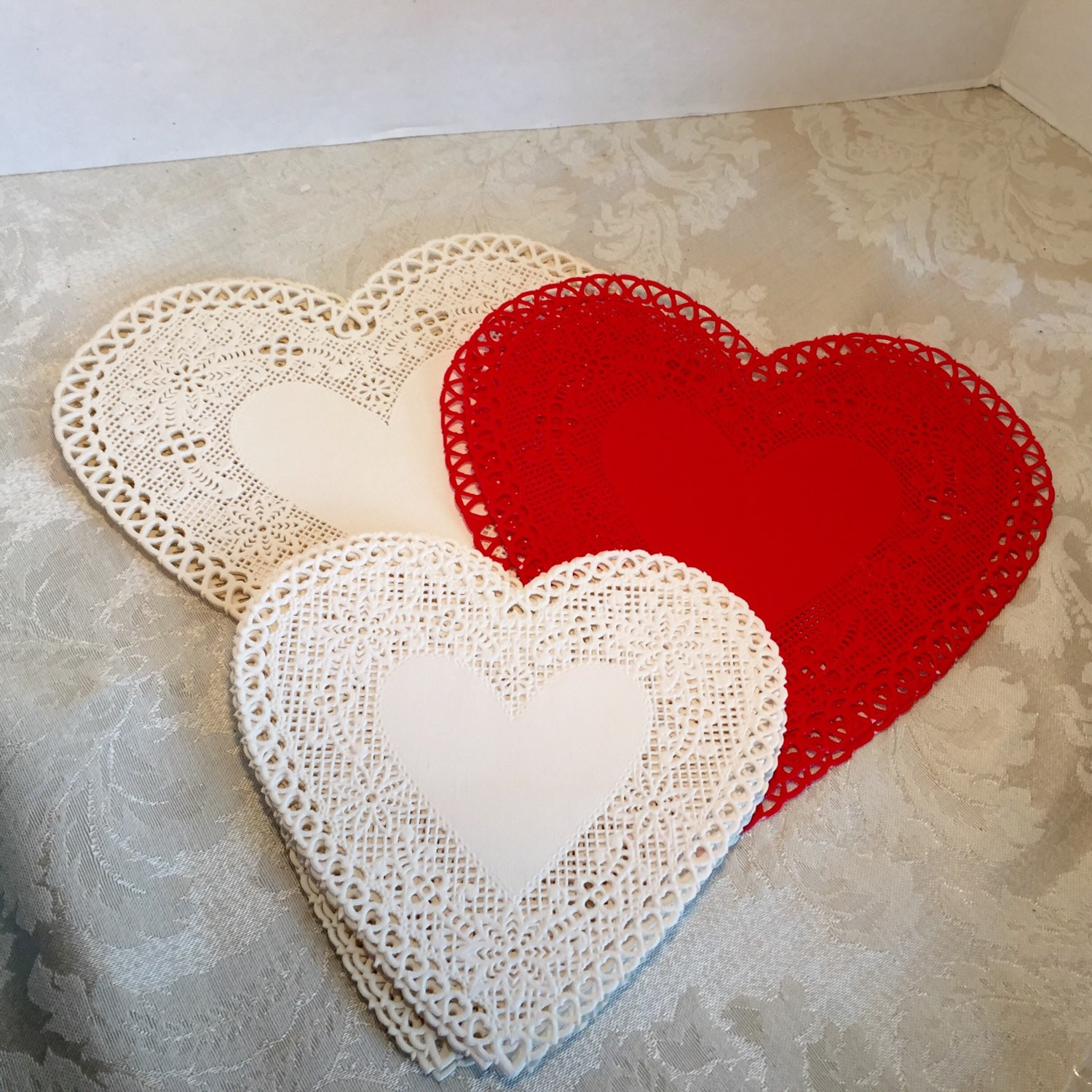 Red Paper Doilies Elegant Vintage Hallmark Heart Lace Paper Doilies Red and White Of Great 49 Images Red Paper Doilies