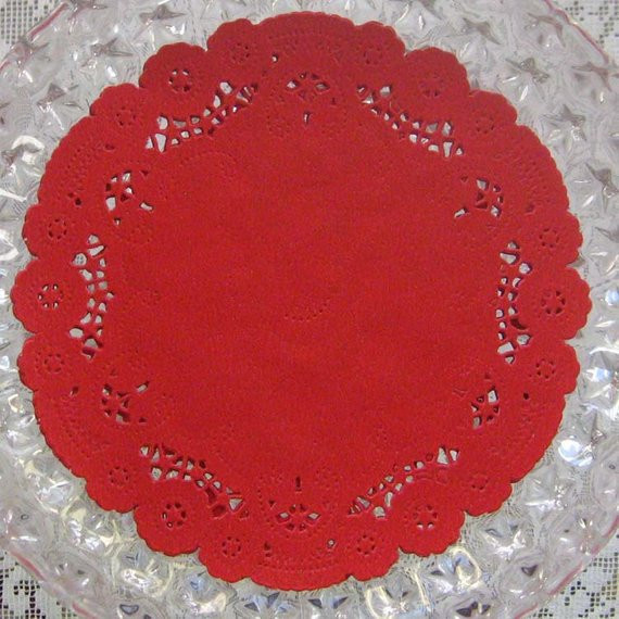 Red Paper Doilies Fresh 15 Fancy Paper Lace Red Doilies Doily Made In by Of Great 49 Images Red Paper Doilies