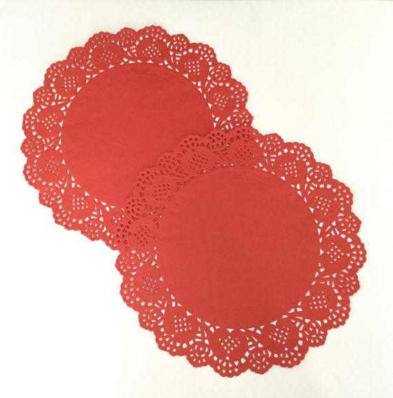 Red Paper Doilies Inspirational Red Doilies Paper Doily Craft Scrapbooking Valentine S Of Great 49 Images Red Paper Doilies