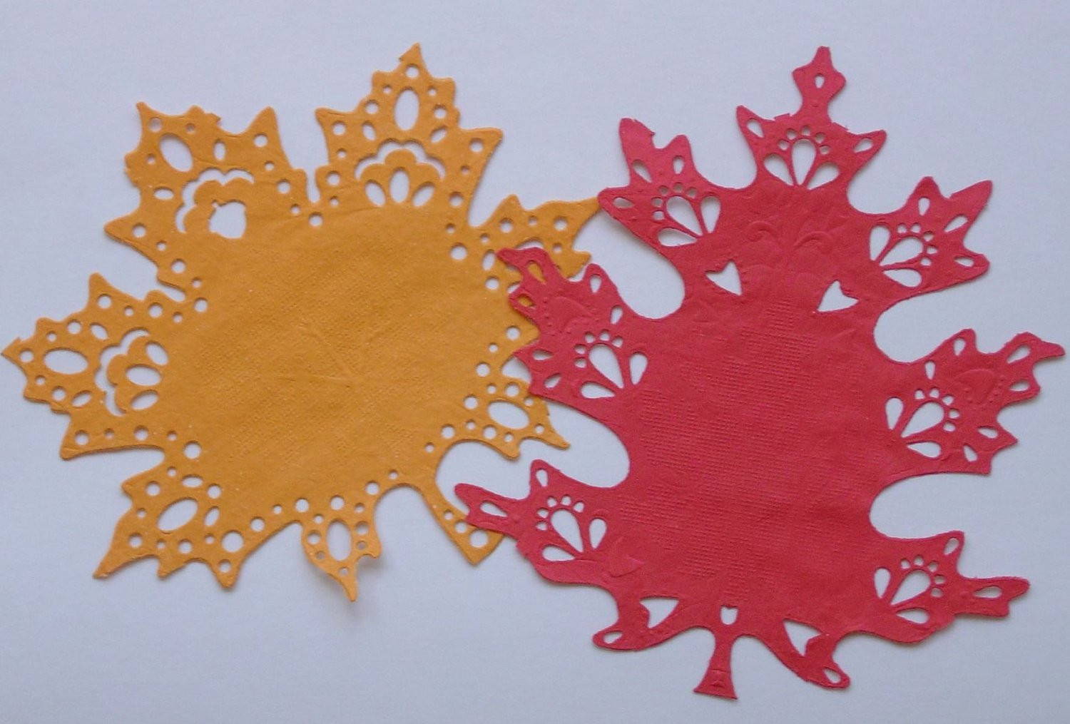 Red Paper Doilies Lovely Fall Leaf Paper Doilies 6 Inch Set Of 16 Red and orange Of Great 49 Images Red Paper Doilies