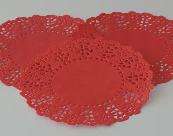 Red Paper Doilies Lovely Red Paper Doilies Package Of 75 Of Great 49 Images Red Paper Doilies