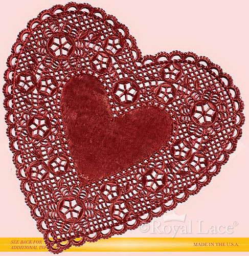 Red Paper Doilies Luxury Red Foil Heart Paper Doilies Royal Lace 4 Of Great 49 Images Red Paper Doilies
