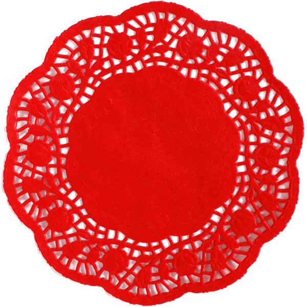 """Red Paper Doilies New 50x Red Rose Paper Lace Doilies 6 5"""" 16 5cm Wedding Party Of Great 49 Images Red Paper Doilies"""
