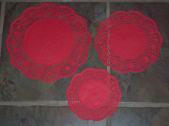 Red Paper Doilies New Red Paper Doilies Round with Scalloped Edges ass T Sizes 6 Of Great 49 Images Red Paper Doilies