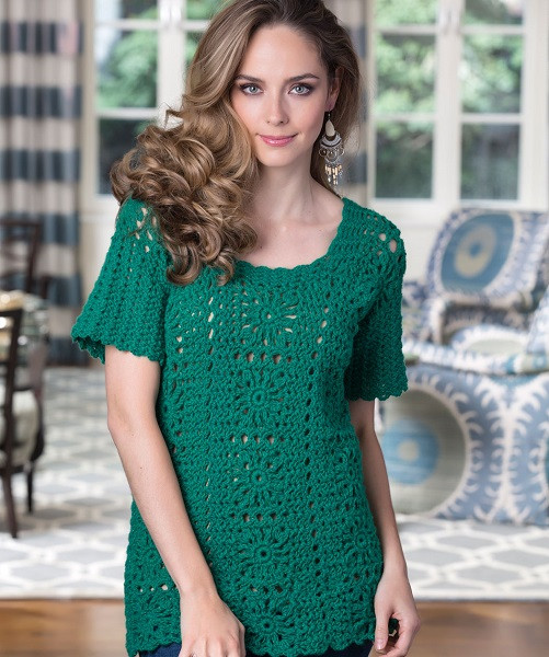 Redheart Free Patterns New Red Heart Tunic top Crochet Pattern Free Of Top 37 Pictures Redheart Free Patterns