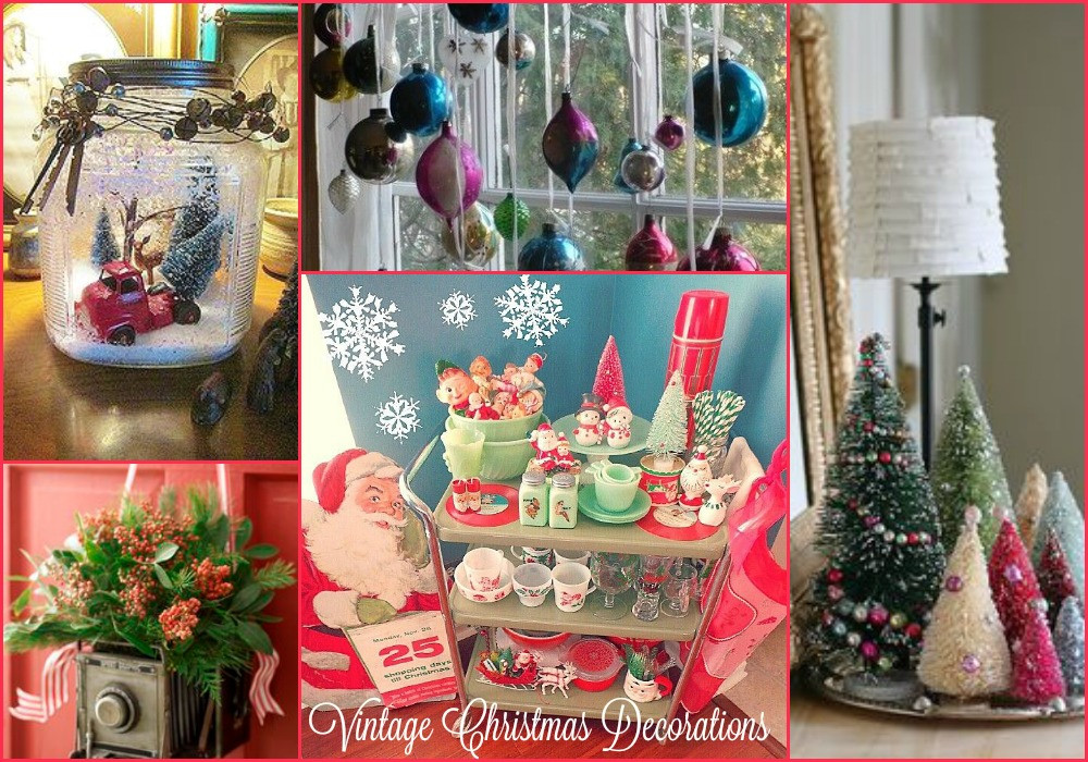 Retro Christmas Decorations Beautiful A Very Vintage Christmas Of Brilliant 48 Pics Retro Christmas Decorations