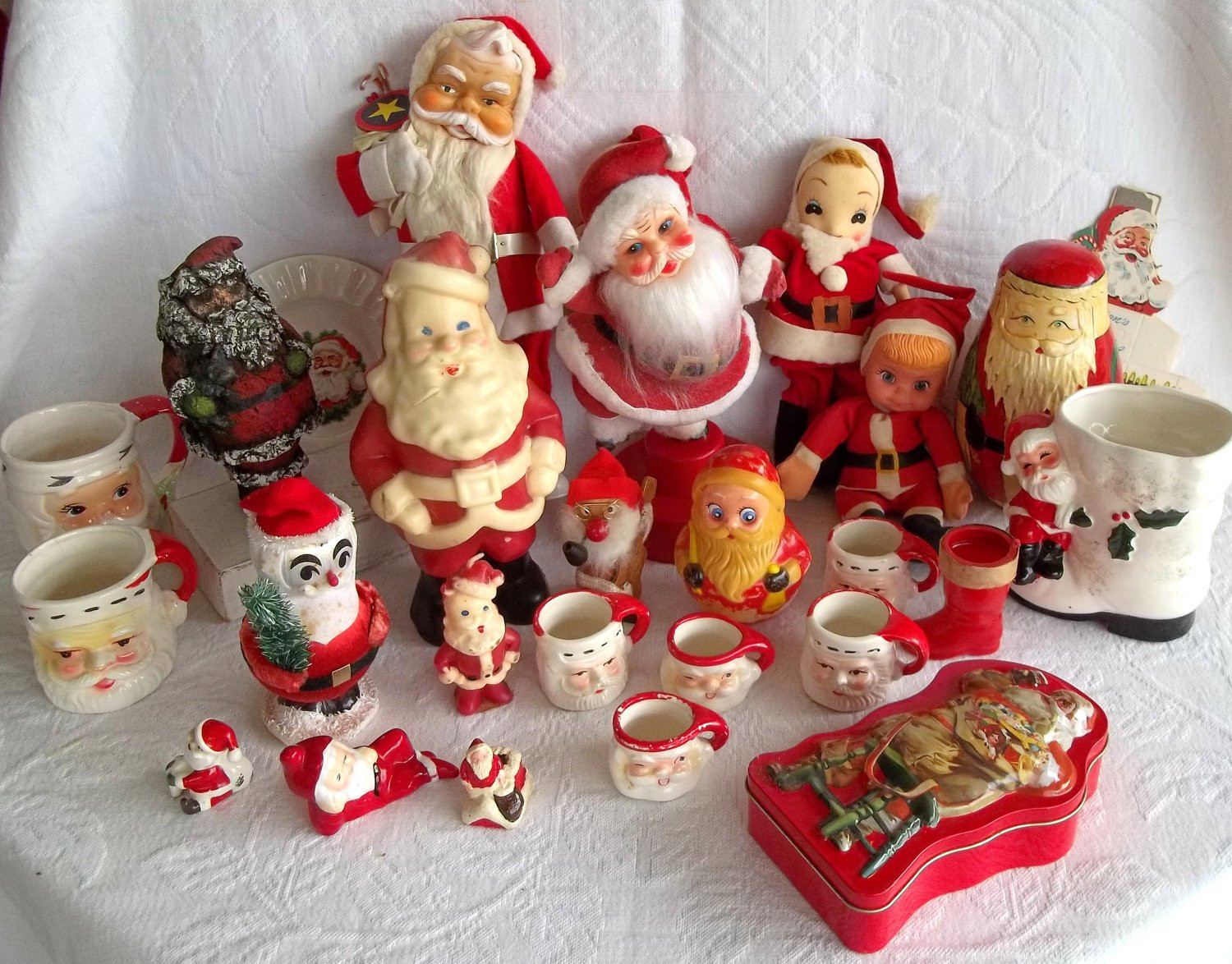 Retro Christmas Decorations Luxury Vintage Christmas Santa Claus Decorations 1940s 1980s 28 Of Brilliant 48 Pics Retro Christmas Decorations