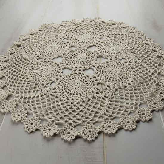 Round Doilies Awesome Ecru Round Crocheted Doily Crochet and Lace Doilies Of Contemporary 43 Ideas Round Doilies