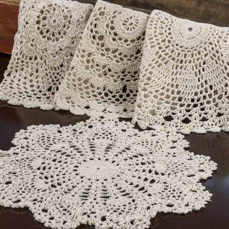 Round Doilies Lovely Ecru Round Crocheted Doilies Crochet and Lace Doilies Of Contemporary 43 Ideas Round Doilies