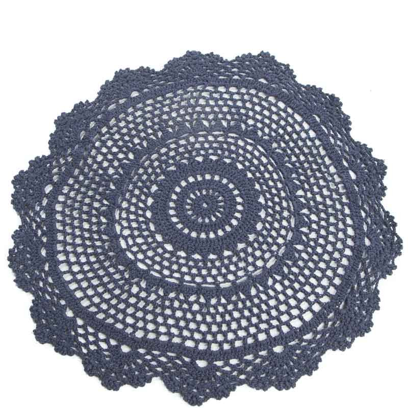 Round Doilies Lovely Navy Round Crocheted Doily Crochet and Lace Doilies Of Contemporary 43 Ideas Round Doilies