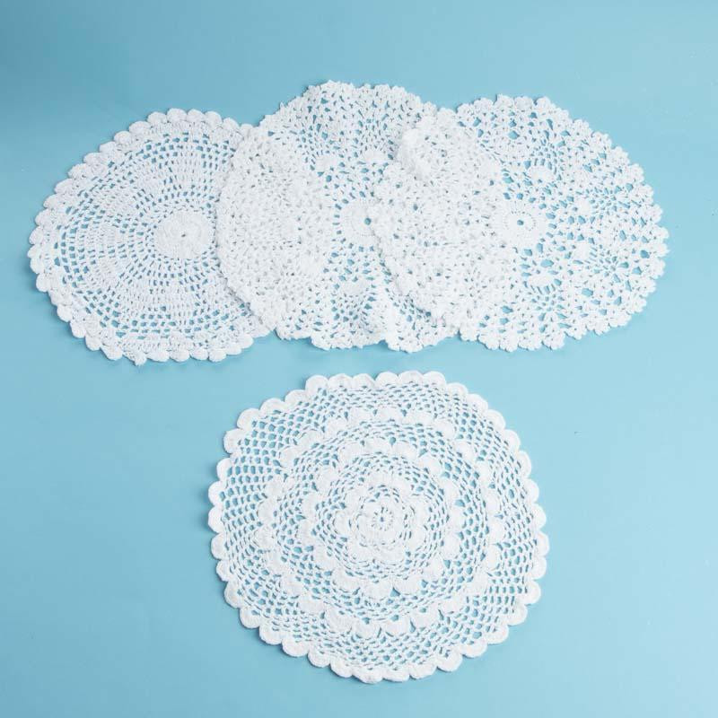 Round Doilies Lovely White Round Crocheted Doilies Crochet and Lace Doilies Of Contemporary 43 Ideas Round Doilies