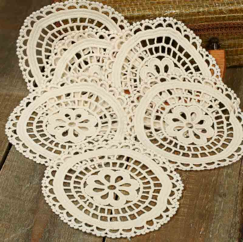 Round Doilies Luxury Ivory Round Crocheted Doilies Crochet and Lace Doilies Of Contemporary 43 Ideas Round Doilies