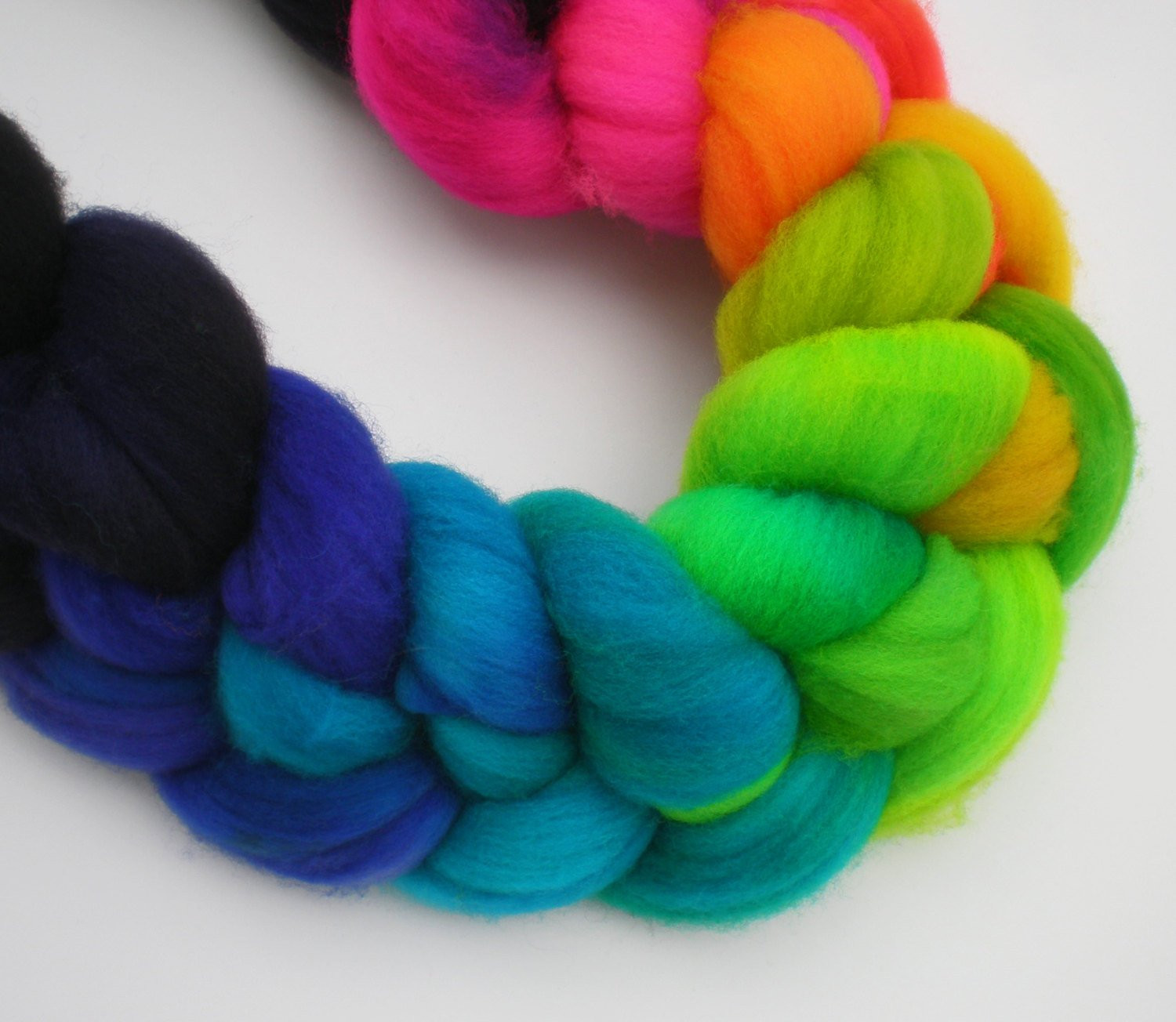 Roving Yarn Elegant Hand Dyed Superwash Roving Wool top Spinning Fiber Rainbow Of Marvelous 45 Pictures Roving Yarn