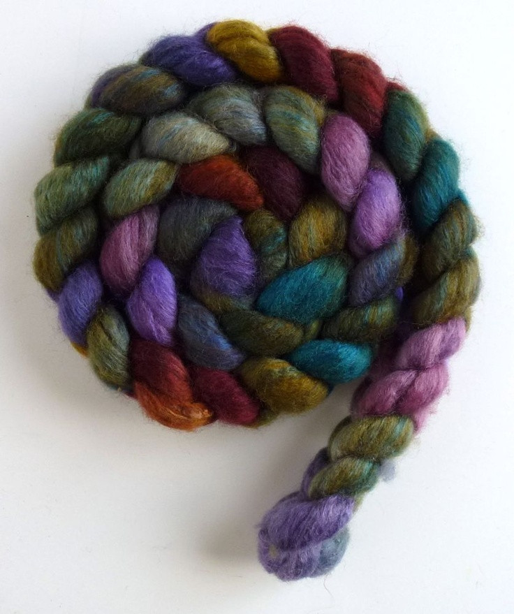 Roving Yarn Inspirational Unspun Wool Roving Blueface Leicester Tussah Silk Bed Of Marvelous 45 Pictures Roving Yarn