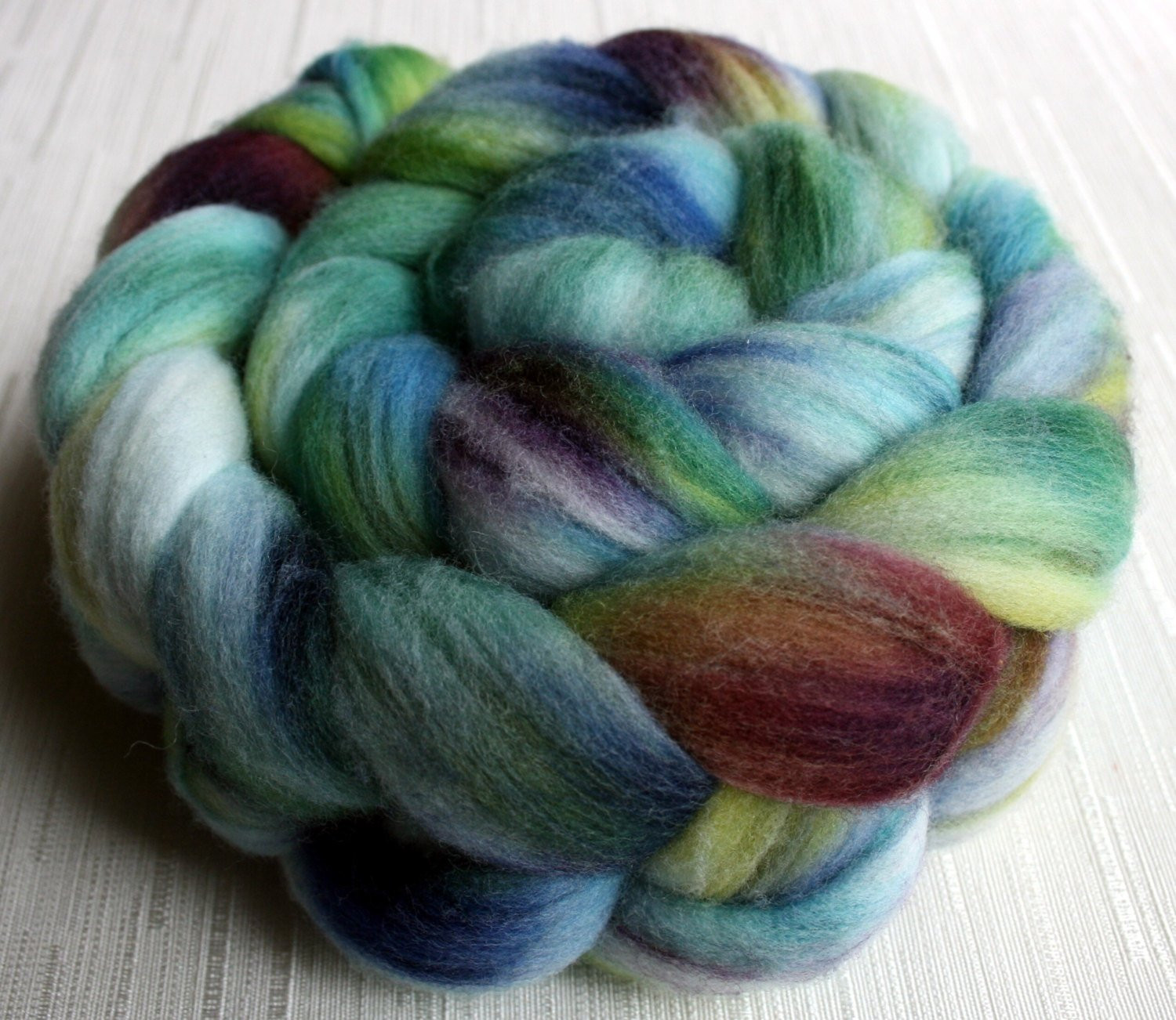 SALE Merino Wool Roving Hand Painted Felting or Spinning