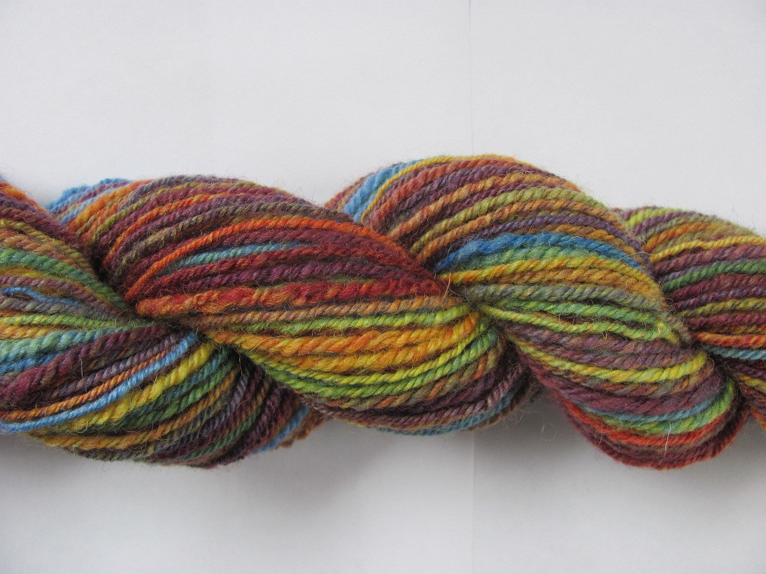 Roving Yarn New Rainbow Dyed Wool Roving and Navaho Plying Of Marvelous 45 Pictures Roving Yarn