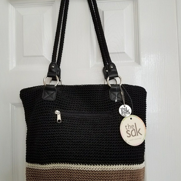 Sak Crochet Bags Beautiful Off the Sak Handbags the Sak Lauren Crochet tote Bag Of Amazing 41 Models Sak Crochet Bags