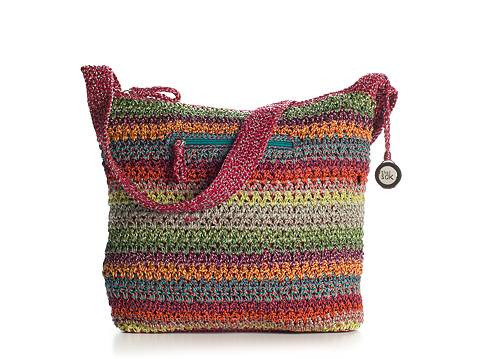 Sak Crochet Bags Lovely the Sak Classic Striped Crochet Shoulder Bag Of Amazing 41 Models Sak Crochet Bags
